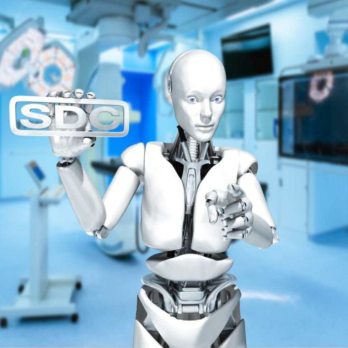 robot with SDC